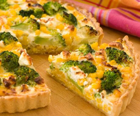 Brokolių apkepas su kukurūzais