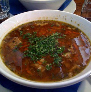 Ėrienos sriuba