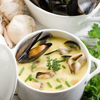 Moliuskų sriuba