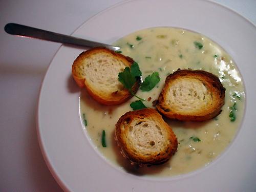 Česnaku sriuba