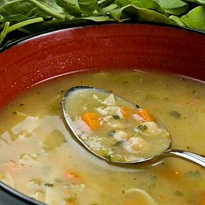 Kreminė vištienos ir kukurūzų sriuba
