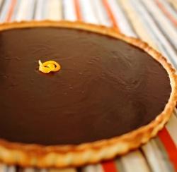 Šokoladinis tartas
