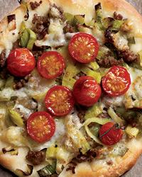 Pica su porais ir pekorino sūriu