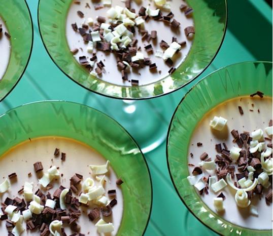 Šokoladinė Panna cotta