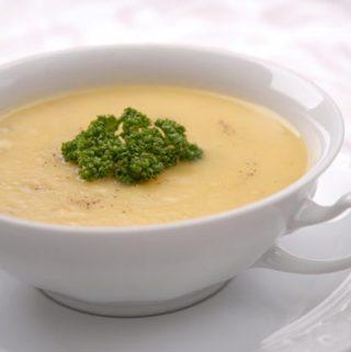 Kreminė bulvių sriuba