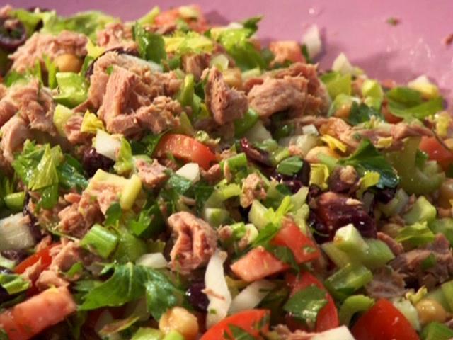 Meksikietiškos tuno salotos