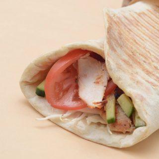 Greitas lavašo sumuštinis