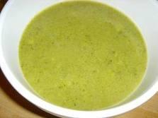 Brokolių ir alyvuogių sriuba