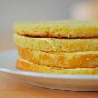 Greitas citrininis tortas