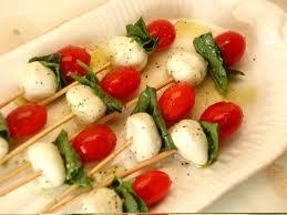 Kaprese salotų iešmeliai