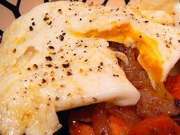 Kiaušinienė su grietine