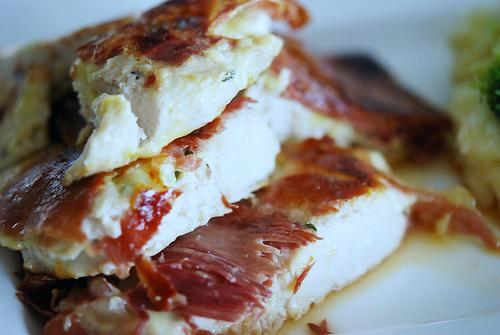 Kepta vištiena itališkai