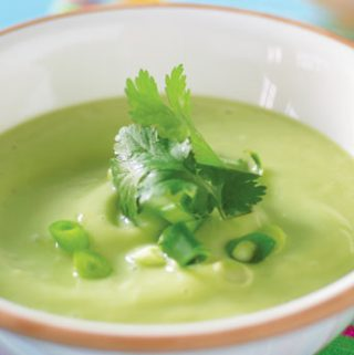 Kreminė avokadų sriuba