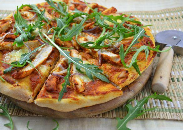 bbq pica su vištiena