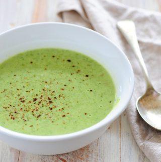 Kreminė brokolių ir bulvių sriuba