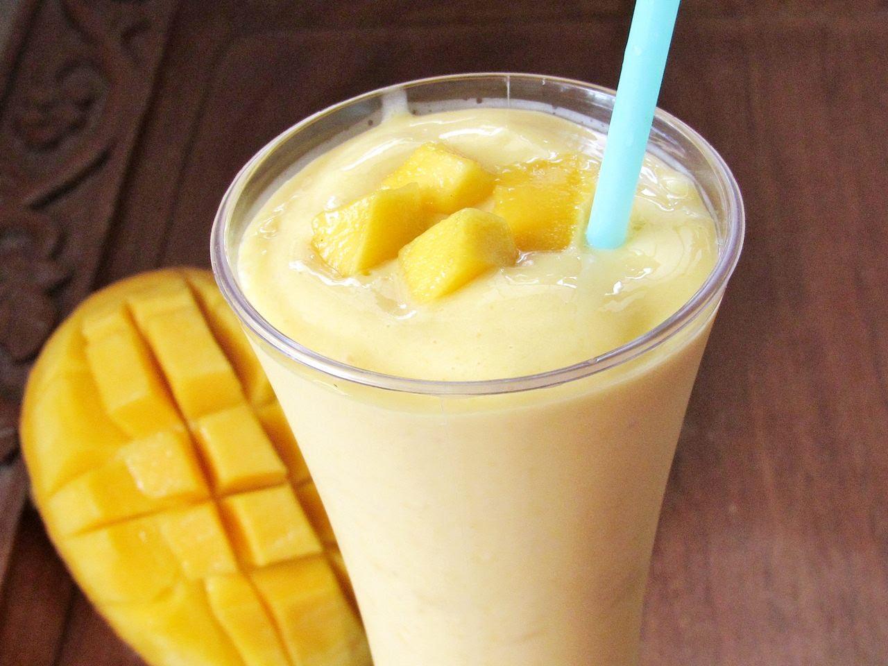 Mango ledų kokteilis