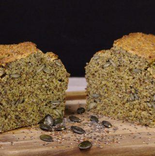 Baltyminė duona be gliuteno