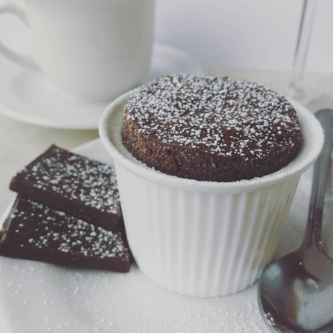 Šokoladinis suflė