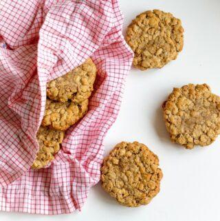 Minkšti avižiniai sausainiai