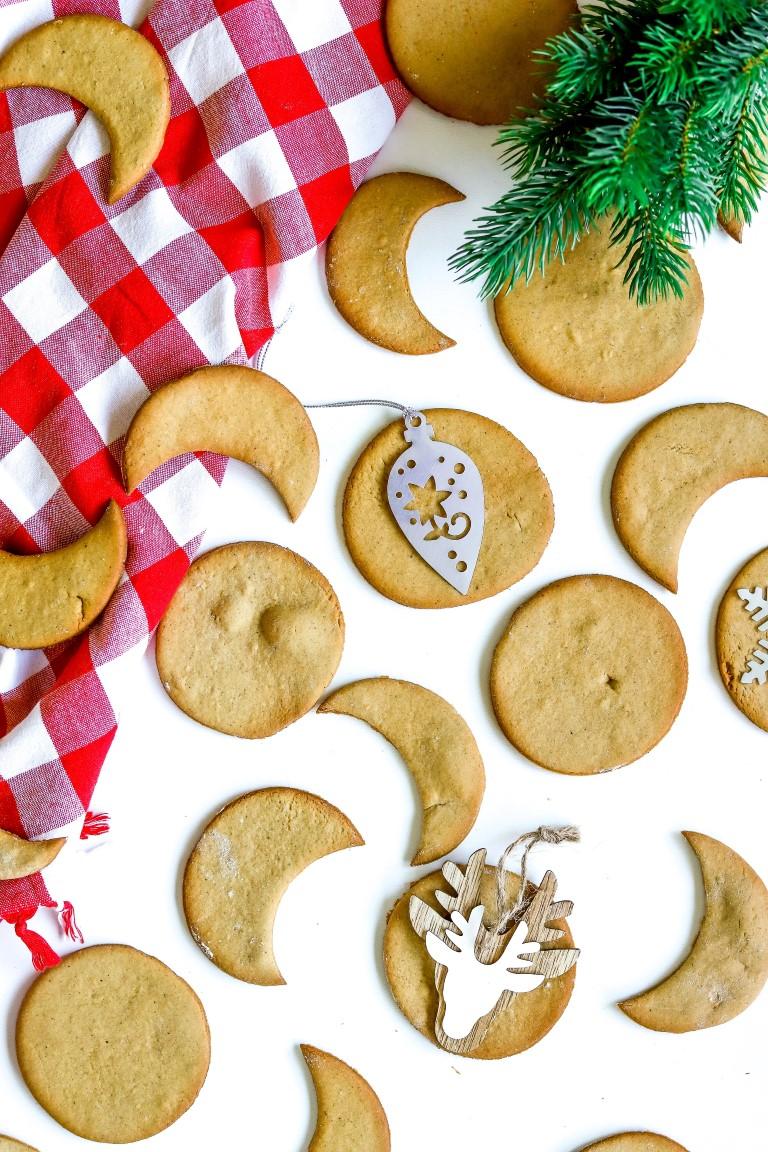 Traškūs imbieriniai sausainiai