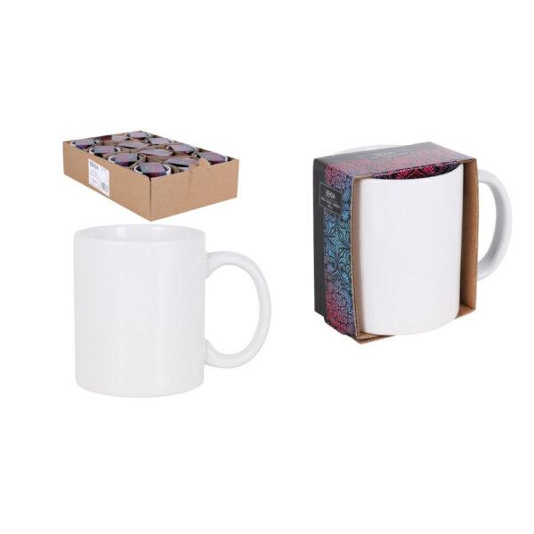 """Baltas puodelis """"Bekia"""", 350ml"""