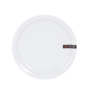 Balta lėkštė, 24.7cm