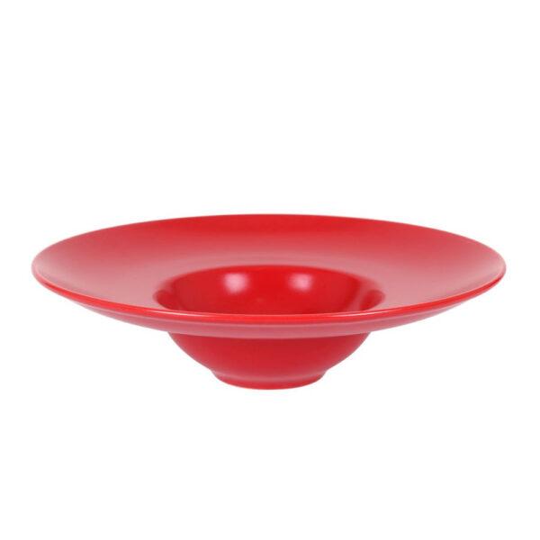 Raudona Risotto lėkštė, 25cm