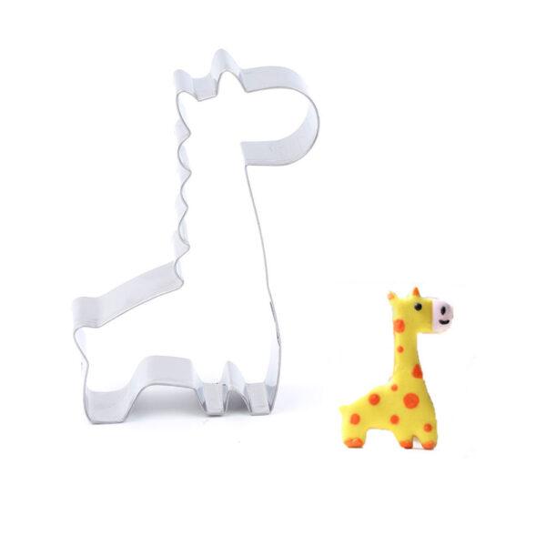 """Sausainių formelė """"Žirafa"""""""