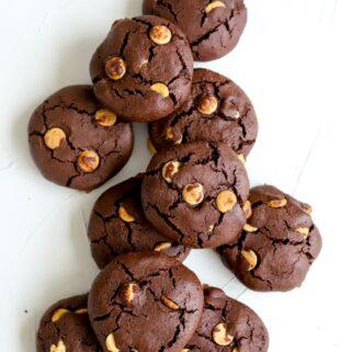 Grikių miltų šokoladiniai sausainiai